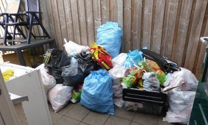 afval lokaas voor ratten
